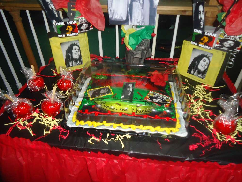 Bob Marley Birthday Party Ideas Photo 8 Of 17 Catch My Party