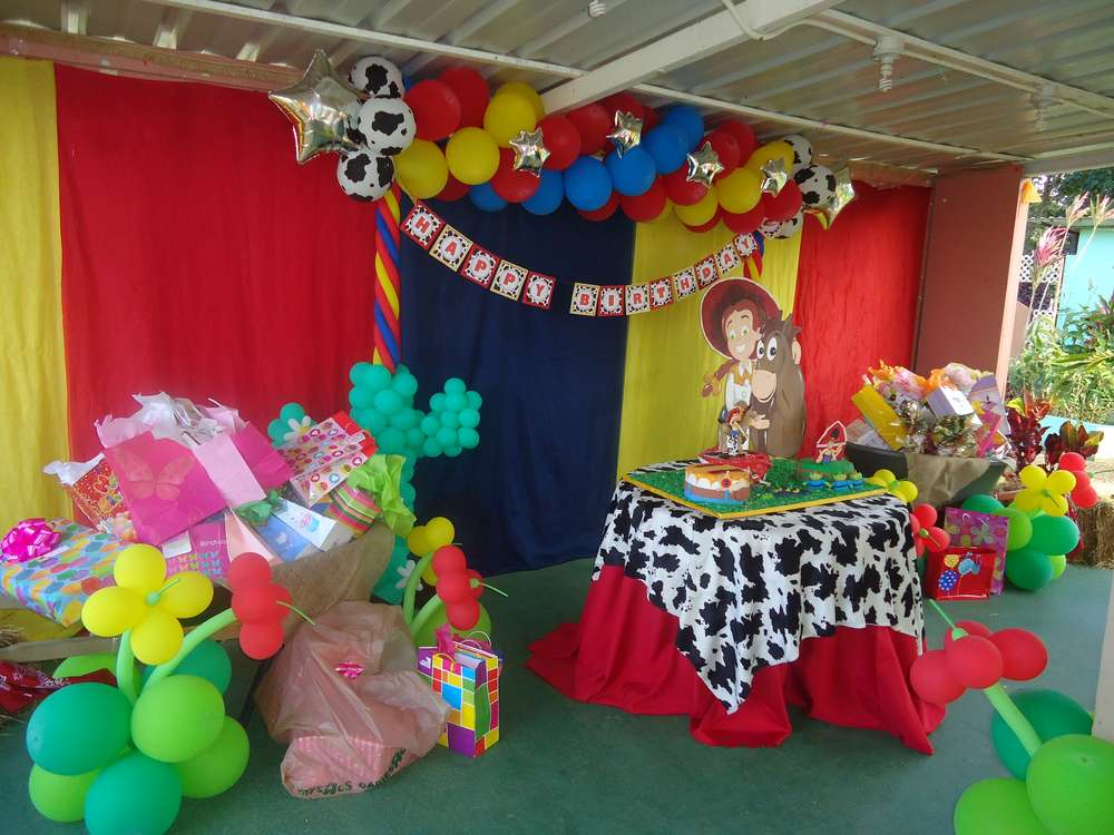 Jesse Toy Story Birthday Party Ideas Photo 3 Of 22 Catch My Party