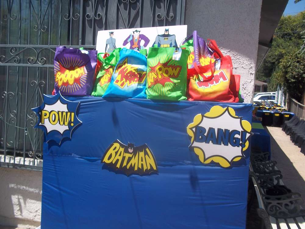 Batman Joker Birthday Party Ideas