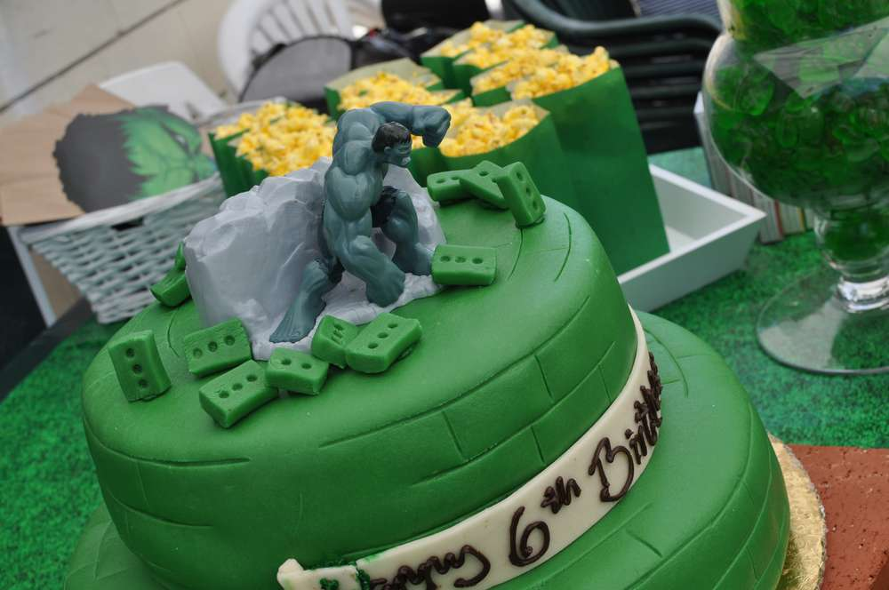 Incredible Hulk Birthday Party Ideas Photo 1 of 47 Catch My Party