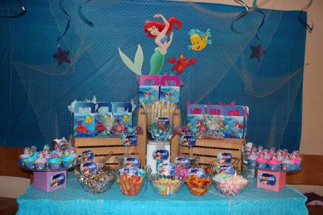 The Little Mermaid Birthday Party Ideas | Photo 2 of 16 ...