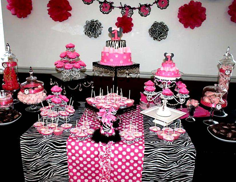 Minnie Mouse Birthday Party Ideas Photo 3 of 45 Catch My Party