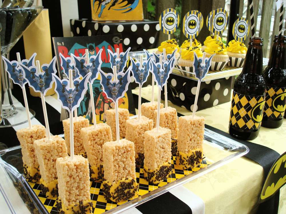 Super Heroes Batman Birthday Party Ideas Photo 9 of 13 Catch My