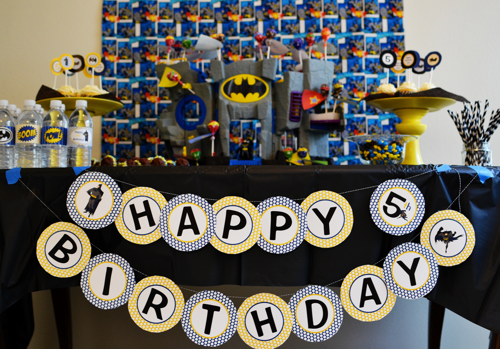 Super Heroes Batman Birthday Party Ideas Photo 1 of 10 Catch My