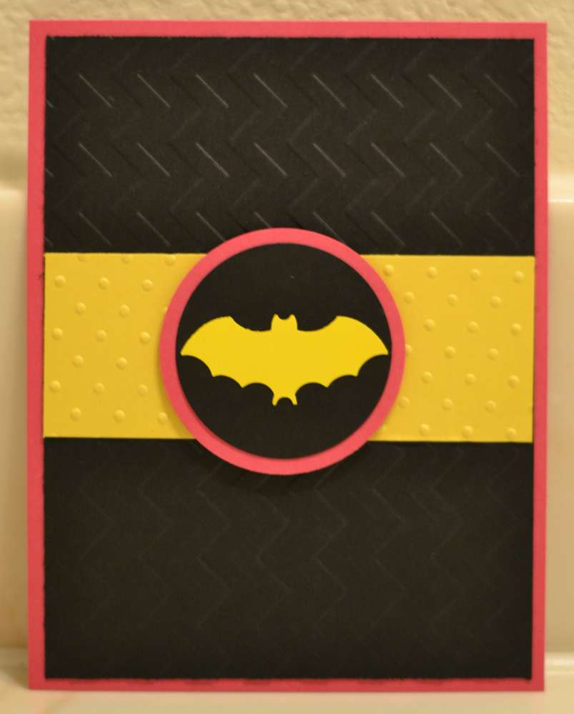 Super Heroes, Batman, Batgirl, Hot Pink, Yellow, Black Birthday ...