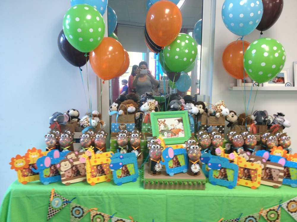 Baby Safari Birthday Party Ideas Photo 8 of 16 Catch My Party