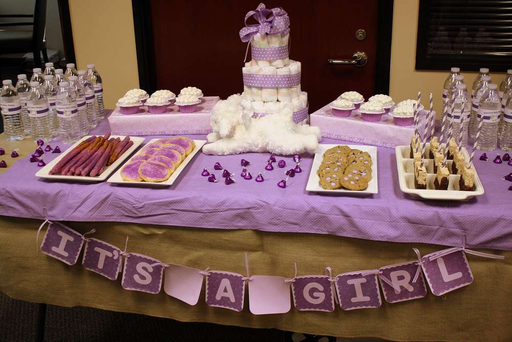lavender lamb baby shower party ideas photo 1 of 7 catch my party