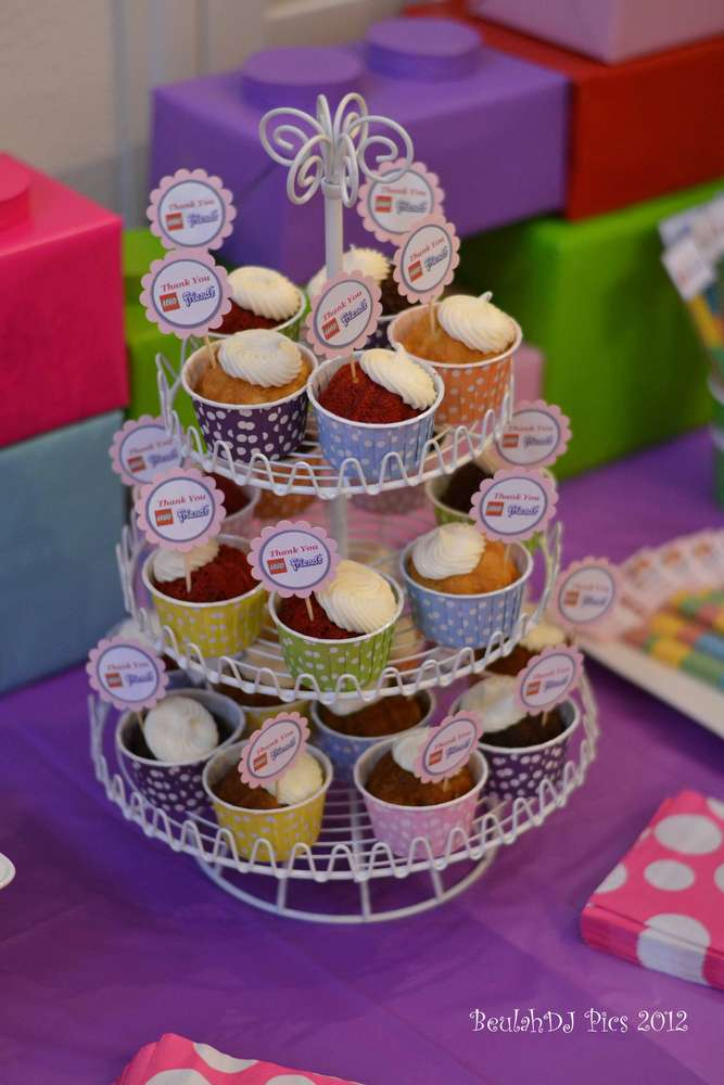 LEGO® Friends, Pink, Purple, Girl Birthday Party Ideas ...