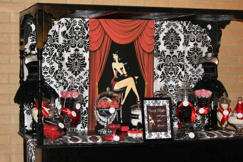 Burlesque Birthday Party Ideas | Photo 8 of 25 | Catch My Party