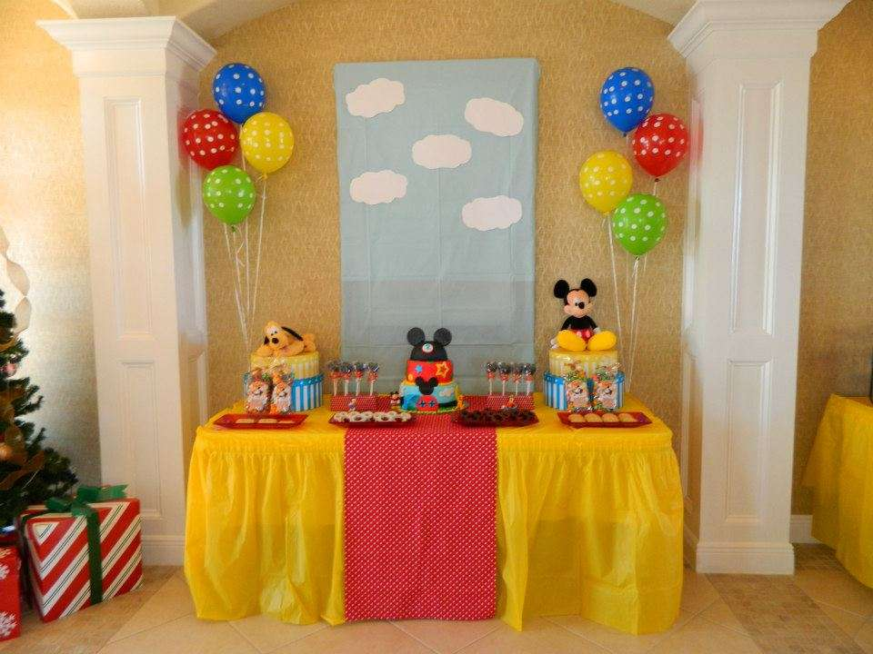 mickey mouse clubhouse birthday party ideas