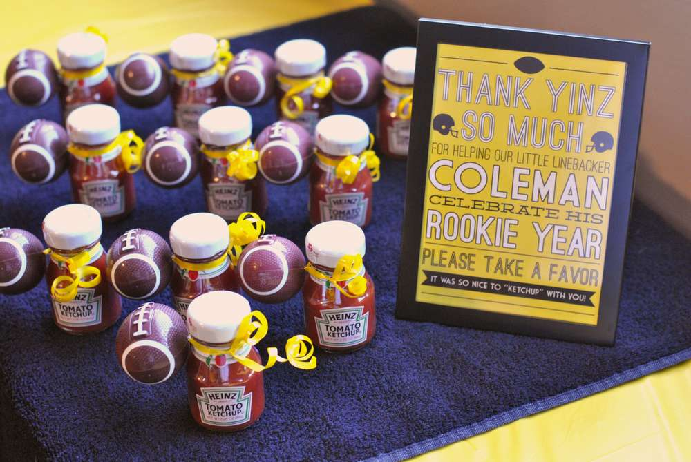 Steelersfootball pittsburgh birthday party ideas photo 5 of 36 our little linebacker is one learn more about this party filmwisefo