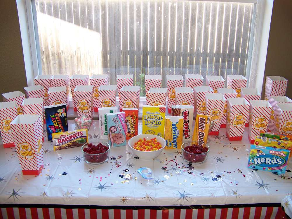 Movie Theater Birthday Party Ideas Photo 6 Of 17 Catch My Party