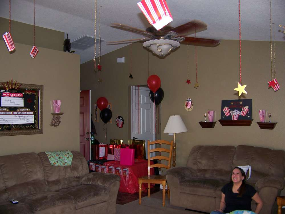 Movie Theater Birthday Party Ideas Photo 8 Of 17 Catch My Party