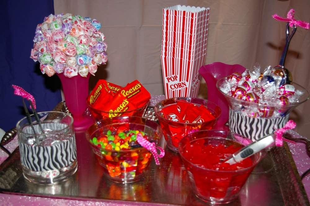 Pink Zebra Theme Birthday Party Ideas