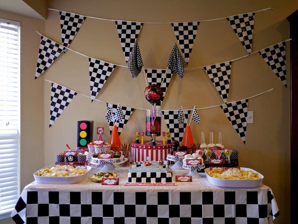 Disney Cars 2nd Birthday Party