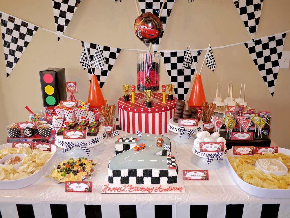 Disney Cars Birthday Party Ideas Photo 3 Of 80 Catch My Party