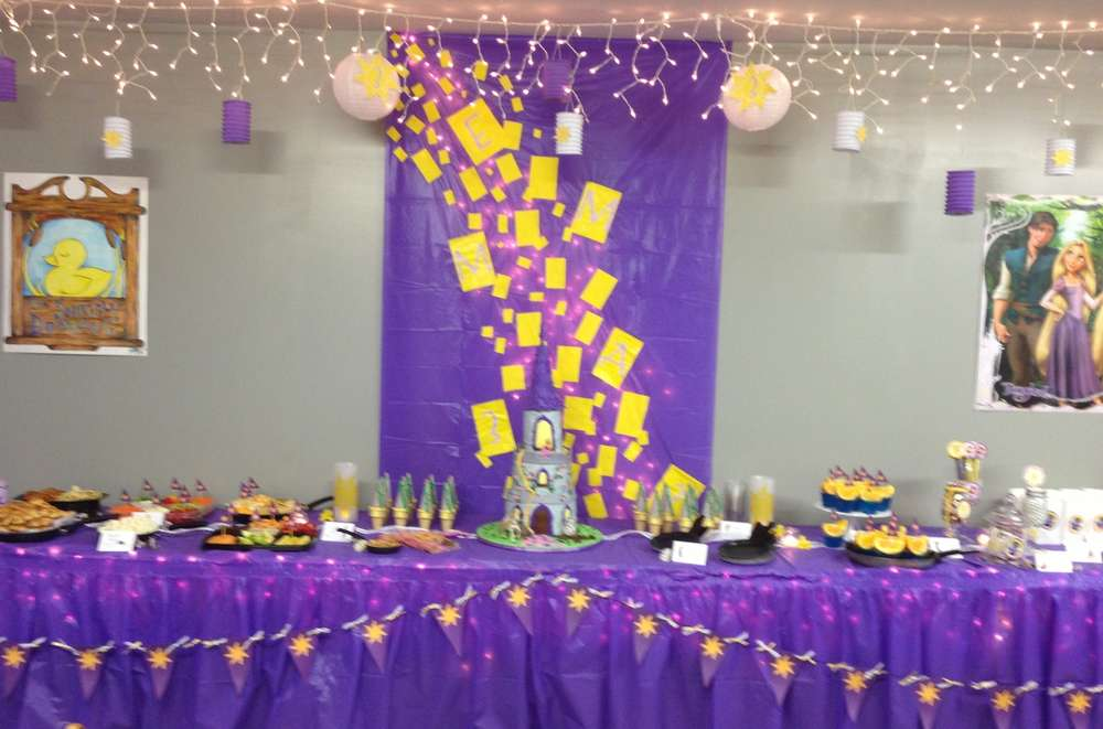Rapunzel/Tangled Birthday Party Ideas | Photo 1 of 37 ...