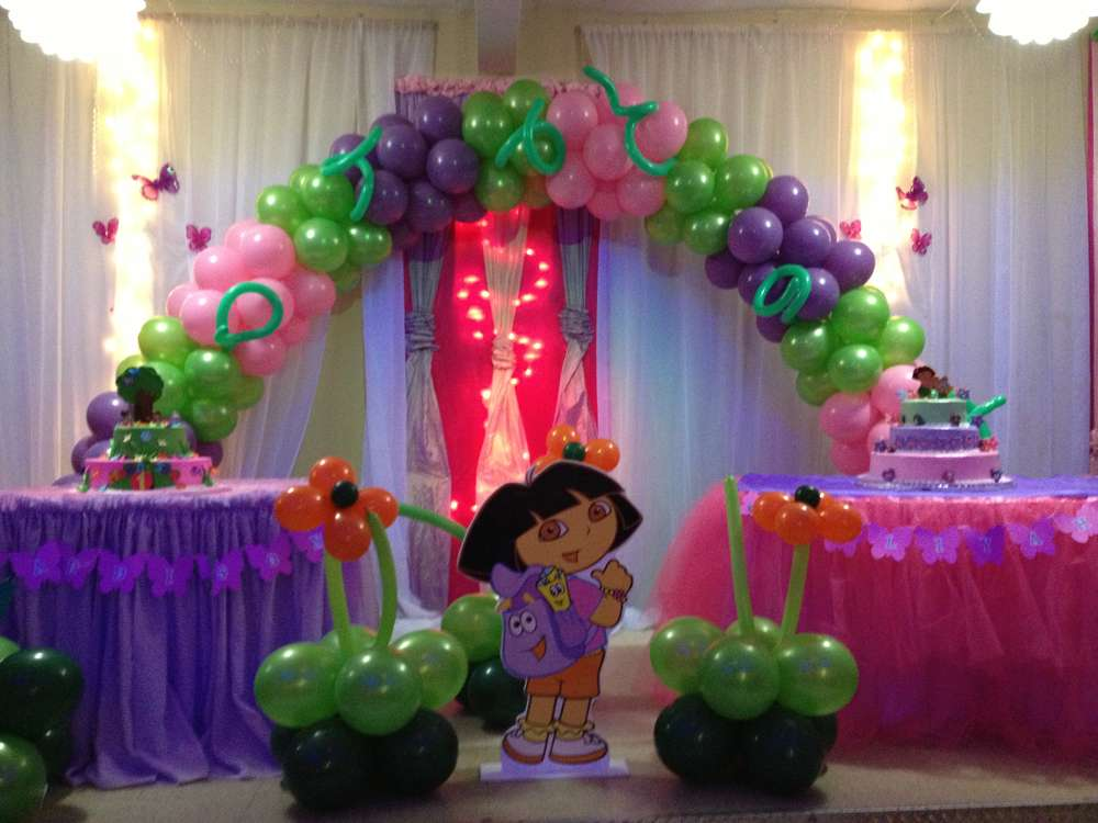 Dora the Explorer Birthday Party Ideas | Photo 4 of 6 | Catch My Party