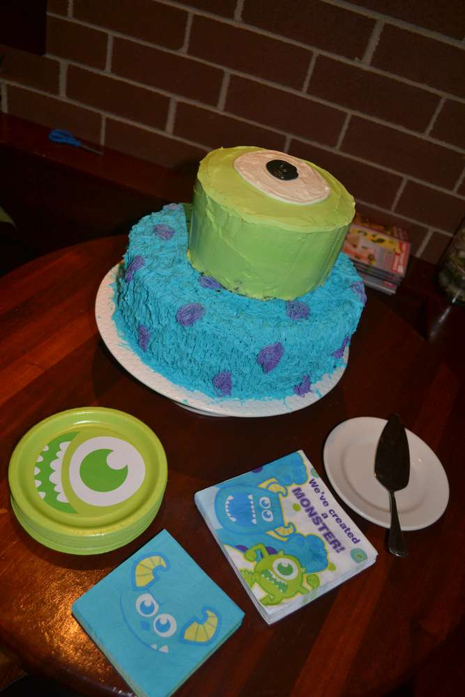 Monsters Inc Baby Shower Party Ideas Photo 7 of 27 Catch My Party