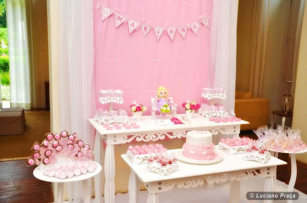 ballerina baby shower party ideas photo 4 of 11 catch my party