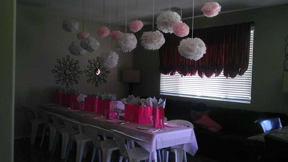 pink and silver baby shower party ideas photo 1 of 8 catch my