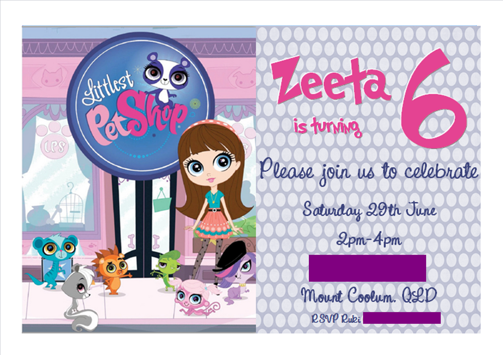 Littlest Pet Shop Birthday Party Ideas | Photo 1 of 34 | Catch My ...