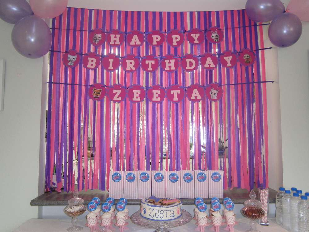 Littlest Pet Shop Birthday Party Ideas | Photo 5 of 34 | Catch My ...