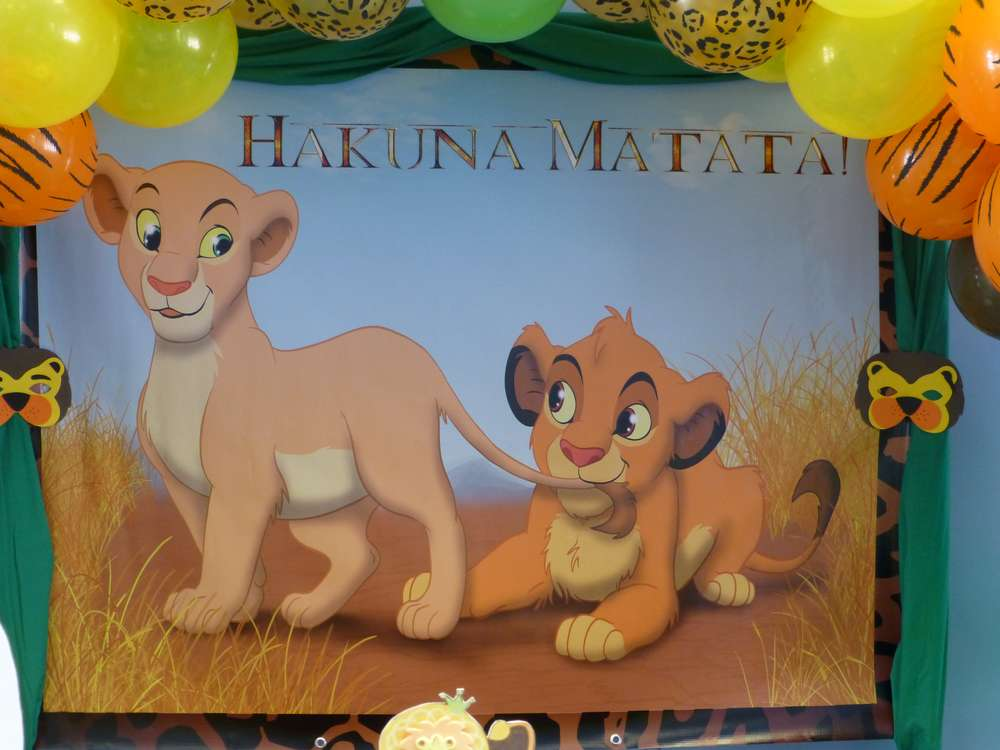 Baby Lion King Baby Shower Party Ideas | Photo 6 of 38 | Catch My Party