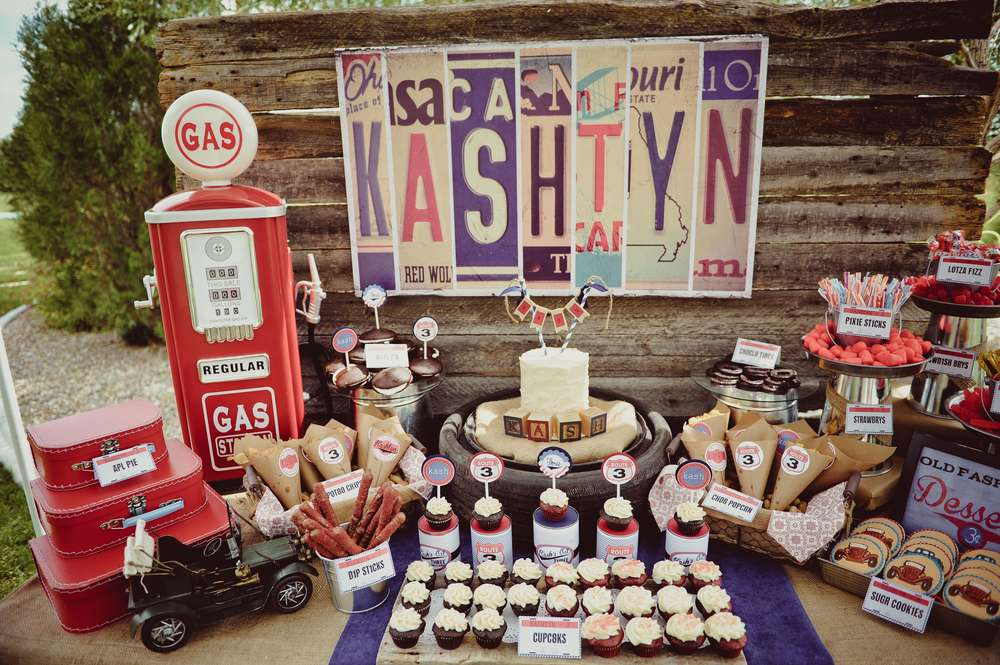 Vintage Cars Birthday Party Ideas Photo 1 of 33 Catch My Party