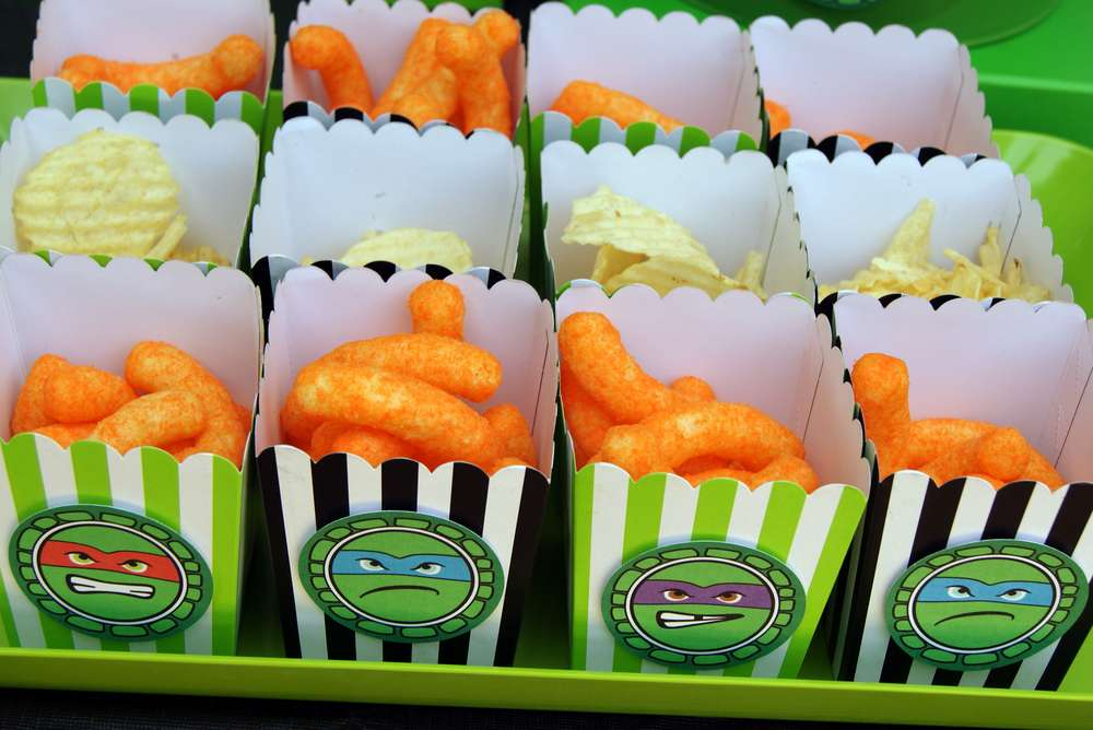 Teenage Mutant Ninja Turtles Birthday Party Ideas | Photo 37 of 50 ...