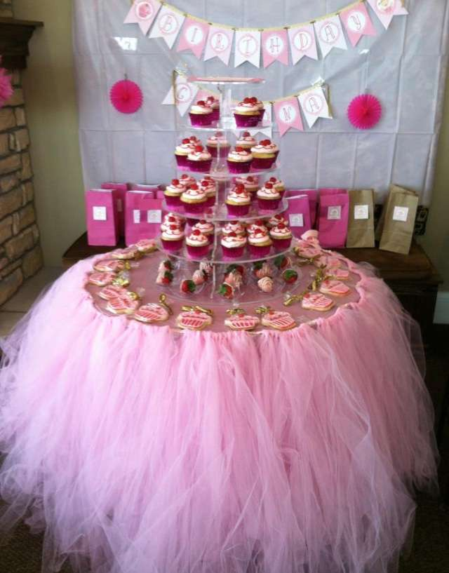 Pink Gold Birthday Party Ideas Photo 1 Of 16 Catch My