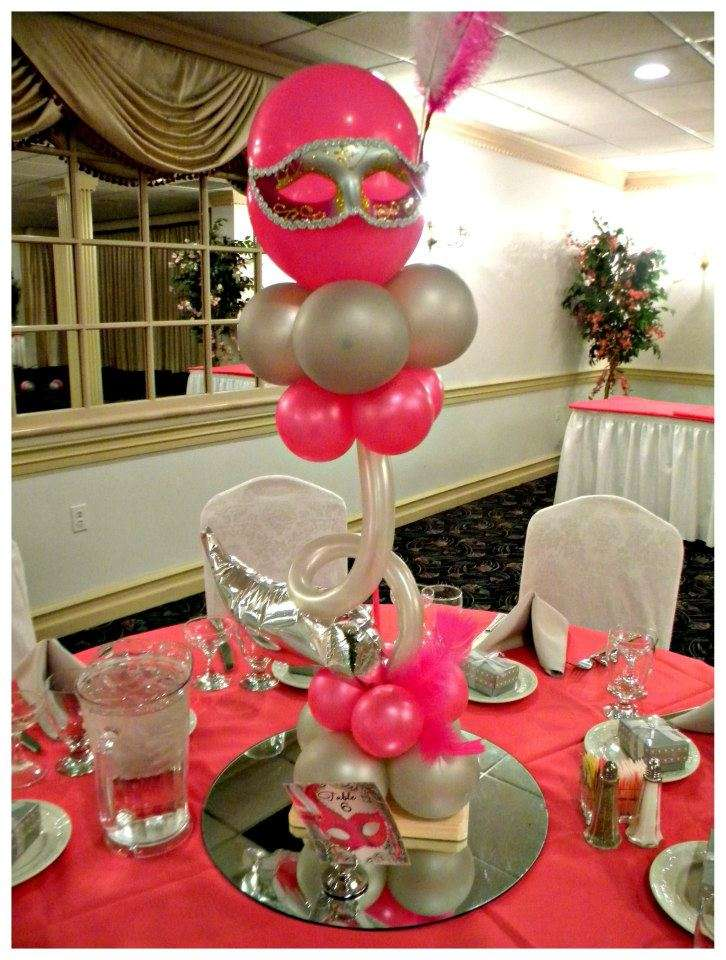 Masquerade sweet 16 Quinceaera Party Ideas Photo 9 of 10 Catch