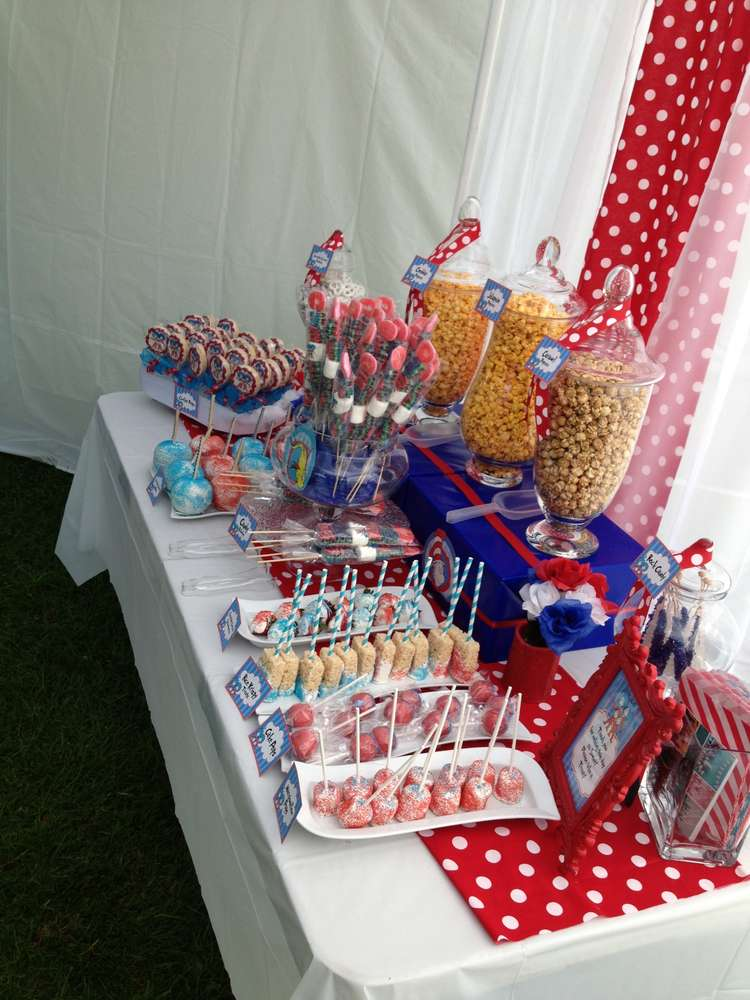 Thing 1 Thing 2 Baby Shower Party Ideas Photo 2 Of 5 Catch My Party