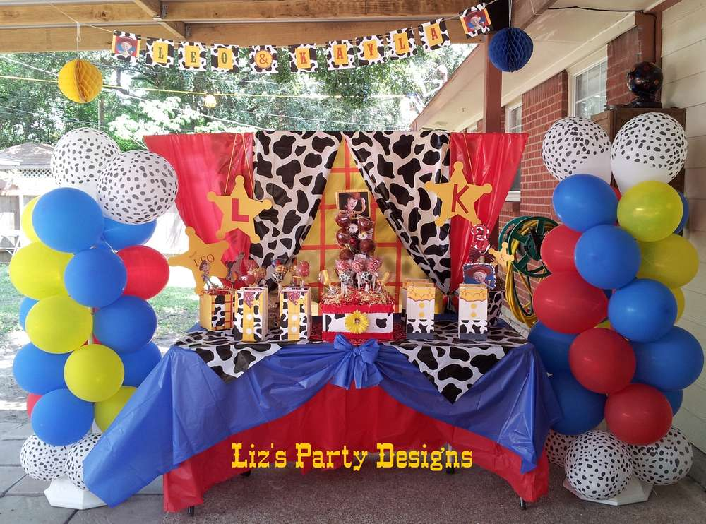 Toy Story Woody And Jessie Birthday Party Ideas Photo 2 Of 28