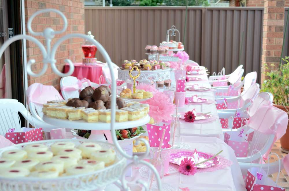 Melina s Pamper High Tea Party Birthday Party Ideas