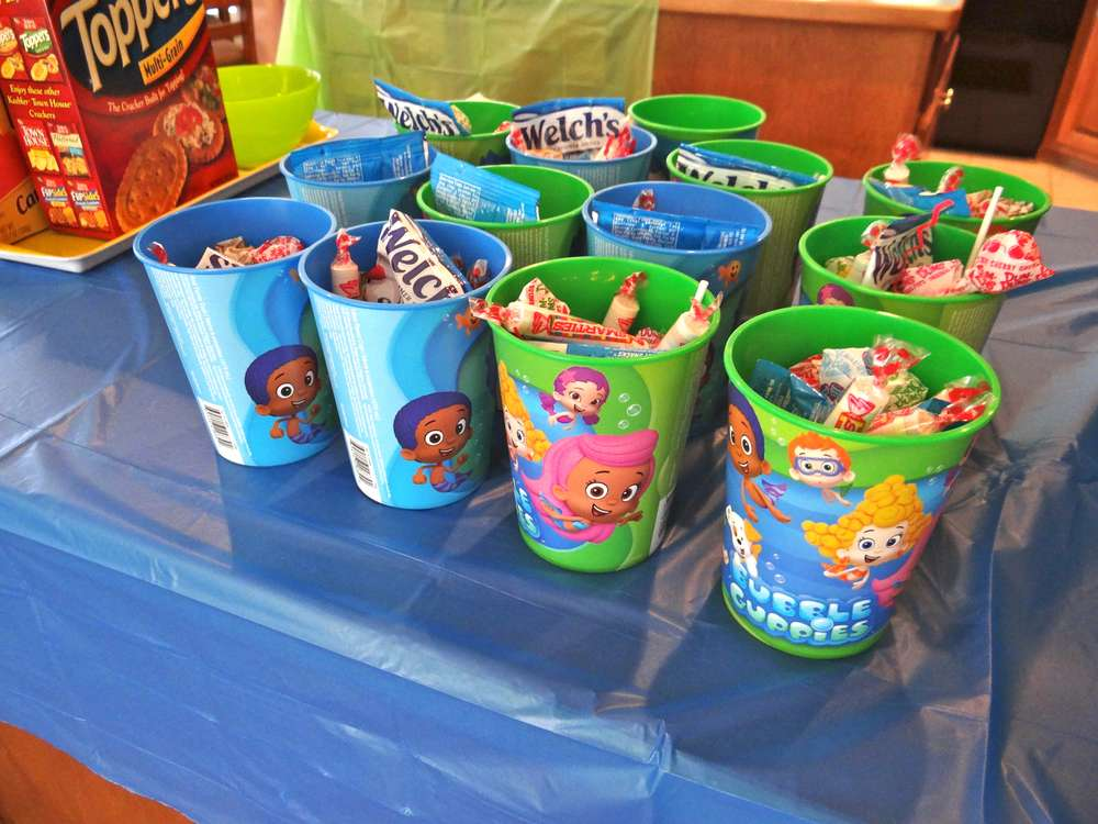 Bubble Guppies 2 Year Old Party