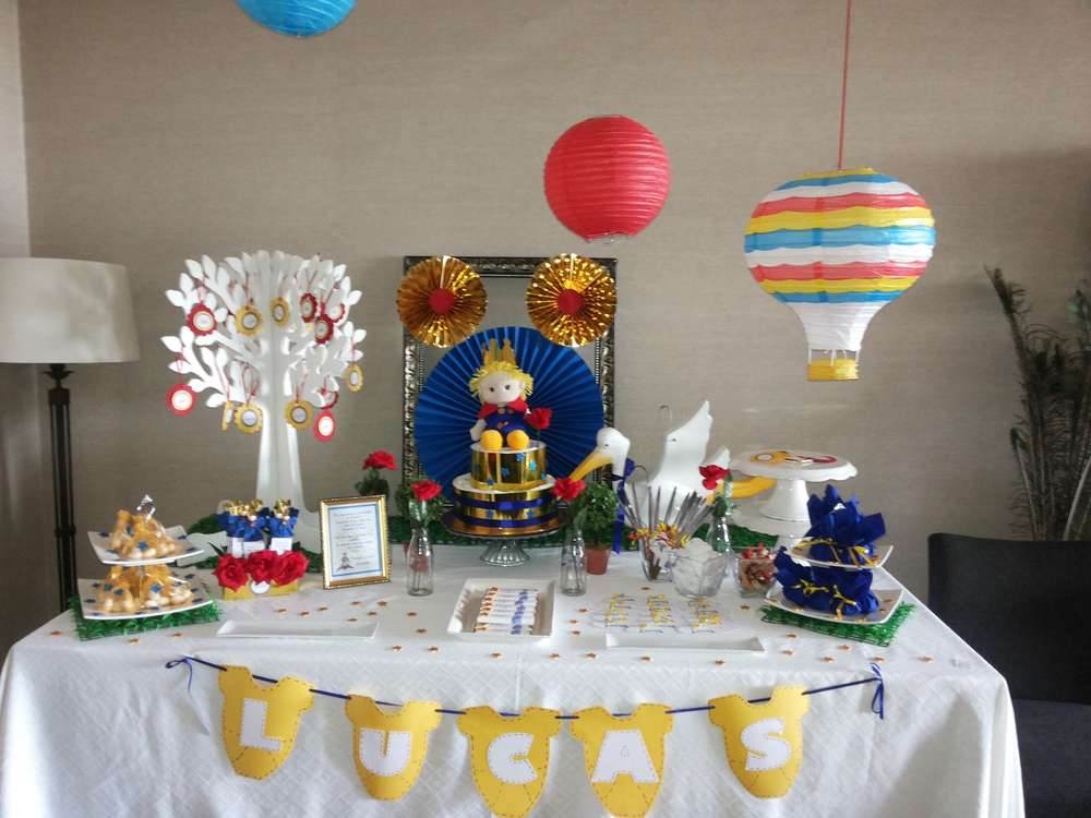 the little prince baby shower party ideas photo 7 of 9 catch my