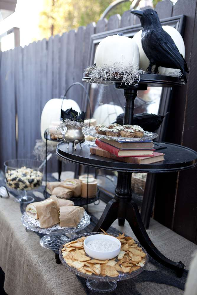 Halloween Dinner Party Ideas.Dinner Party Halloween Party Ideas Photo 50 Of 68 Catch