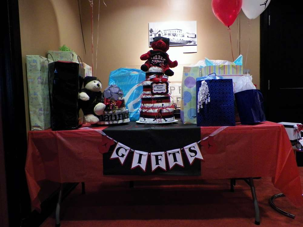 michael jordan jumpman baby shower party ideas photo 10 of 23