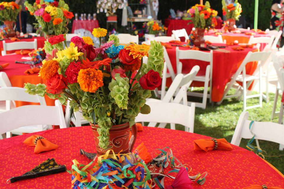 Mexican Fiesta Bridal Wedding Shower Party Ideas Photo 8