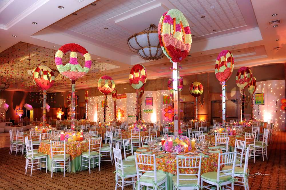 60 S Hippie Theme Bar Mitzvah Party Ideas Photo 5 Of 21