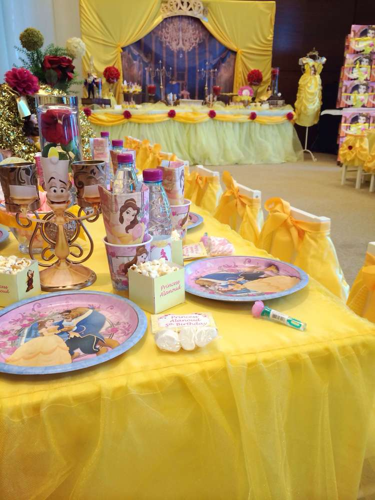 Beauty And The Beast Birthday Party Ideas Photo 5 Of 60 Catch My