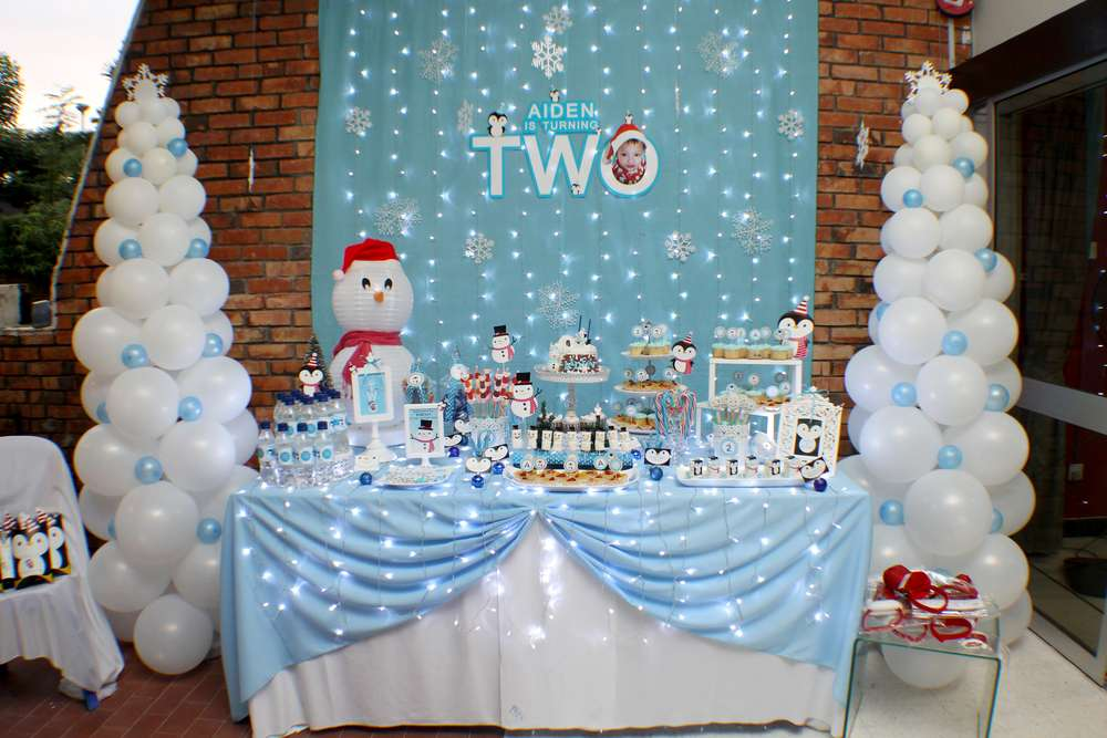 Winter Wonderland Birthday Party Ideas