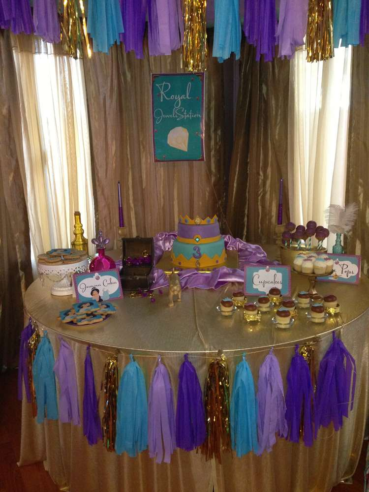 Princess Jasmine Birthday Party Ideas Photo 1 Of 24
