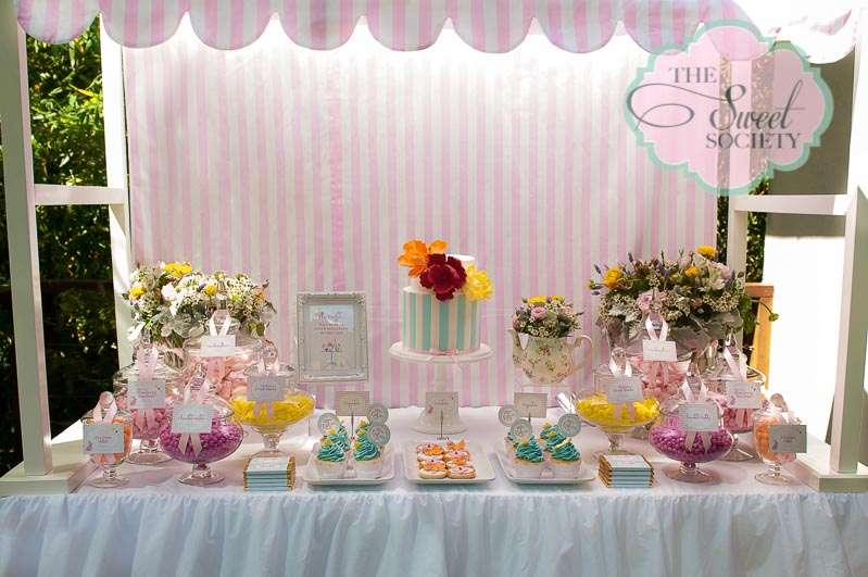 Wonderland Whimsy Birthday Party Ideas Photo 1 Of 21