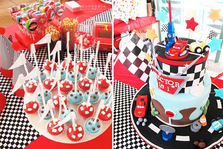 Disney Cars Birthday Party Ideas Photo 5 of 9 Catch My Party