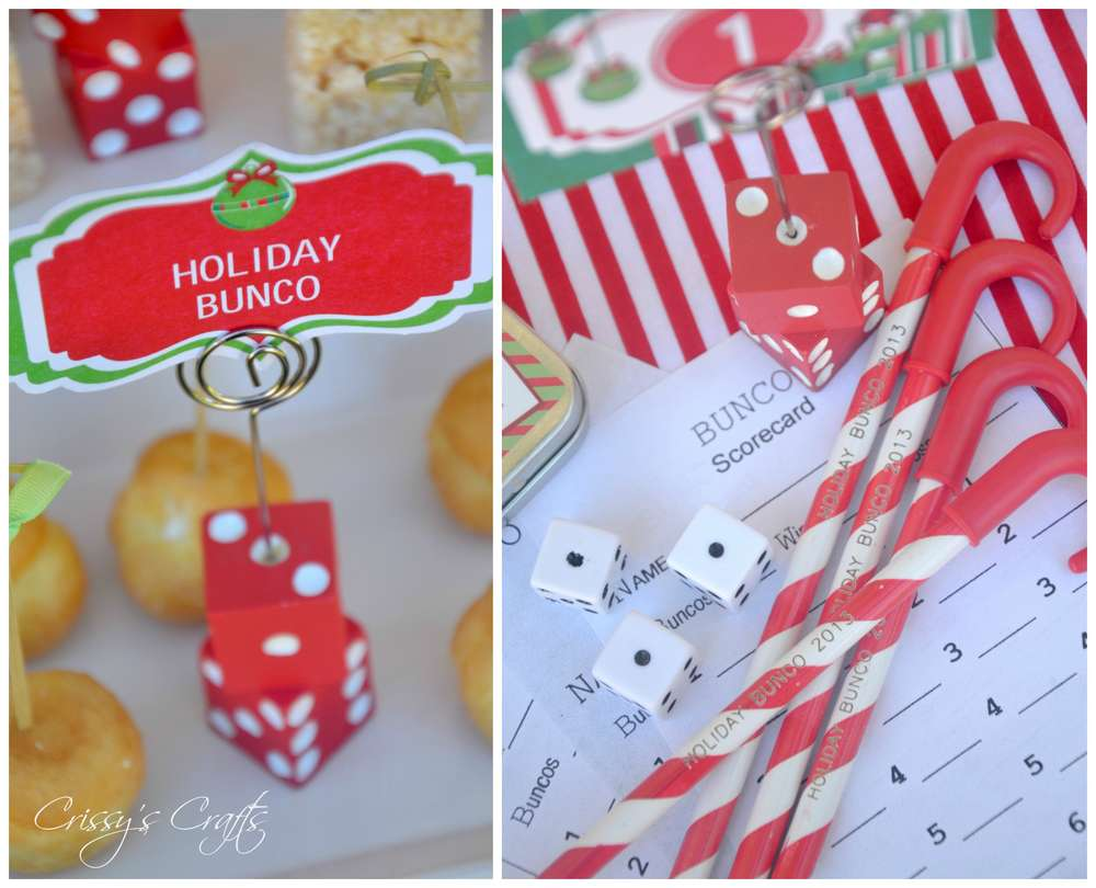 Superior Bunco Christmas Party Ideas Part - 14: BUNCO BASH