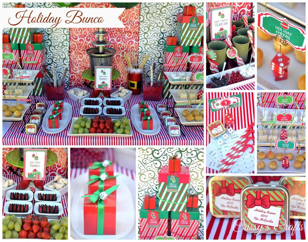 Good Bunco Christmas Party Ideas Part - 13: BUNCO BASH