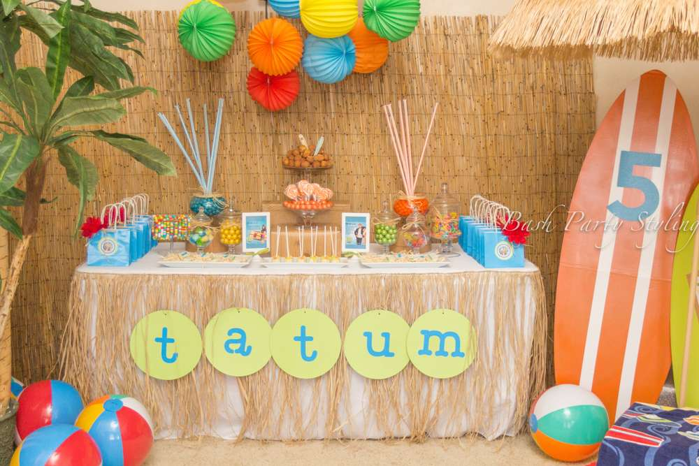 Teen Beach Movie Birthday Party Ideas Photo 1 Of 19 Catch My Party