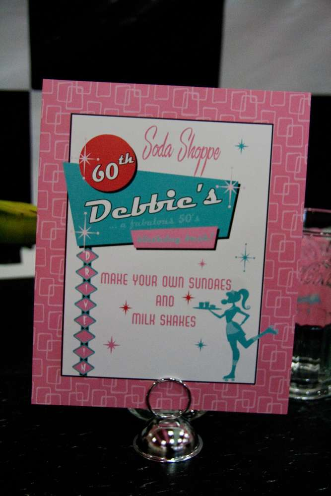 Sock Hop 50\'S Theme Birthday Party Ideas | Photo 8 of 15 | Catch My ...